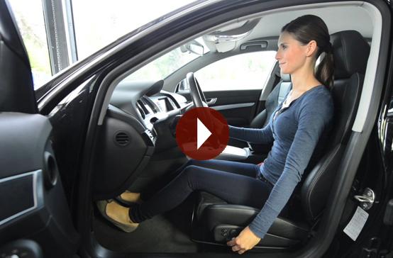 Film: Richtig sitzen im Auto