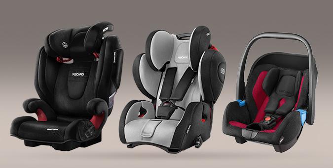 Recaro Kindersitze