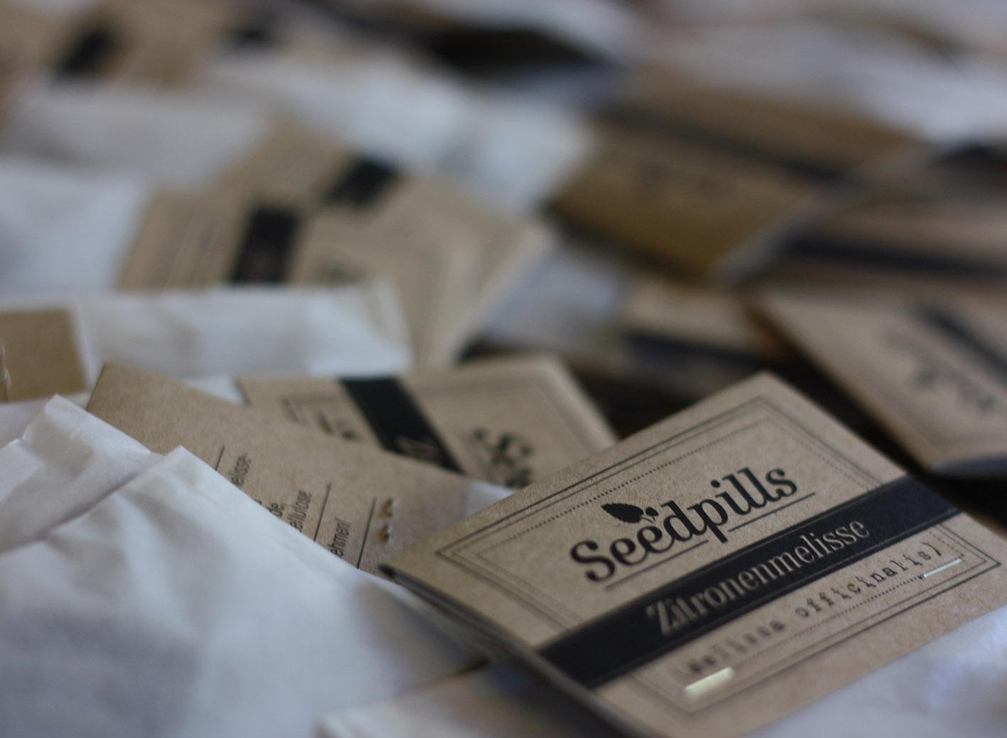 Seedpills verpackt