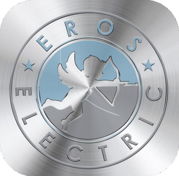 EROS FLASCHE mit Logo bedruckt