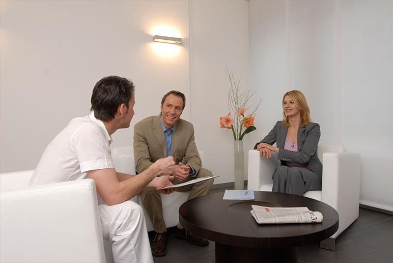 Beratung Zahnarztpraxis