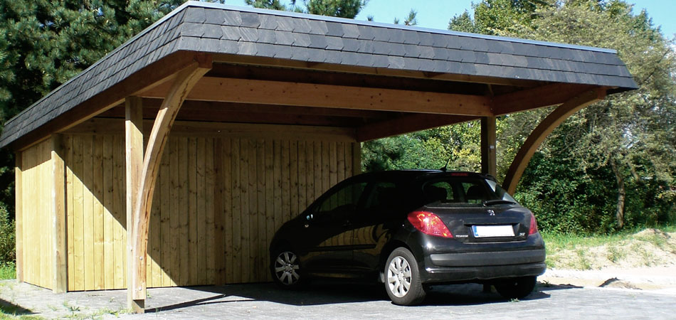 holz carport bausatz ht67 hitoiro. Black Bedroom Furniture Sets. Home Design Ideas