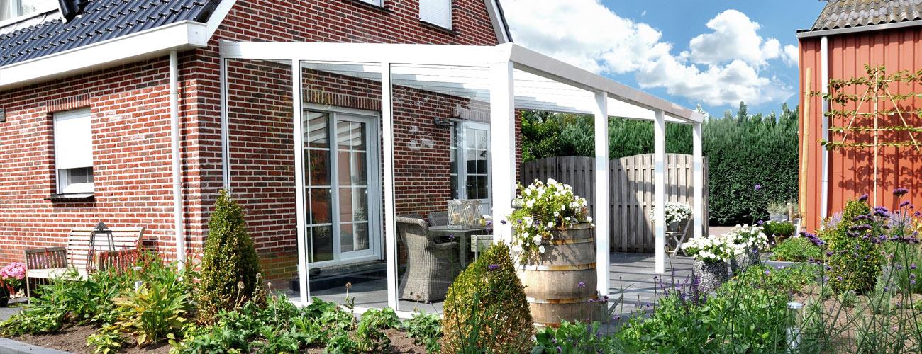 Terrassenüberdachungen mit und ohne Schuppen