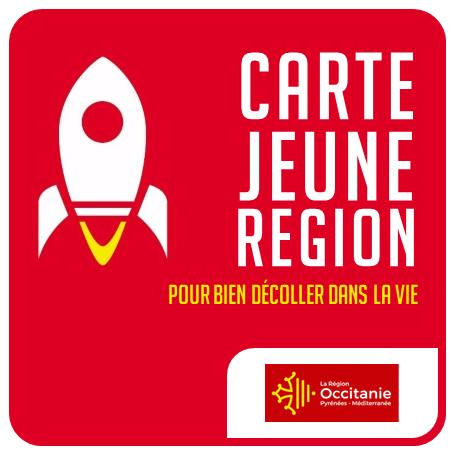 Région Occitanie - Carte Jeune Région