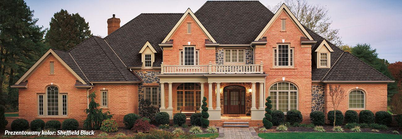 luksusowe gonty bitumiczne, pokrycia dachowe, dach, gont, gaf, Camelot