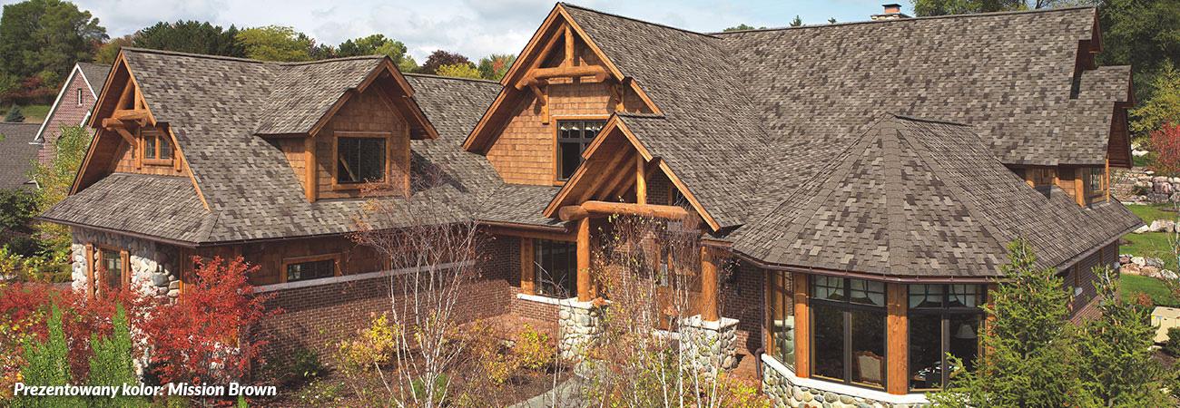 luksusowe gonty bitumiczne, pokrycia dachowe, dach, gont, gaf Grand Canyon