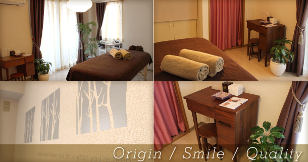 Origin / Smile / Quality
