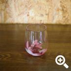 PINK グラス