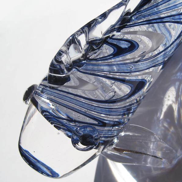 ガラスの鯉飾り ~GLOW CARP~
