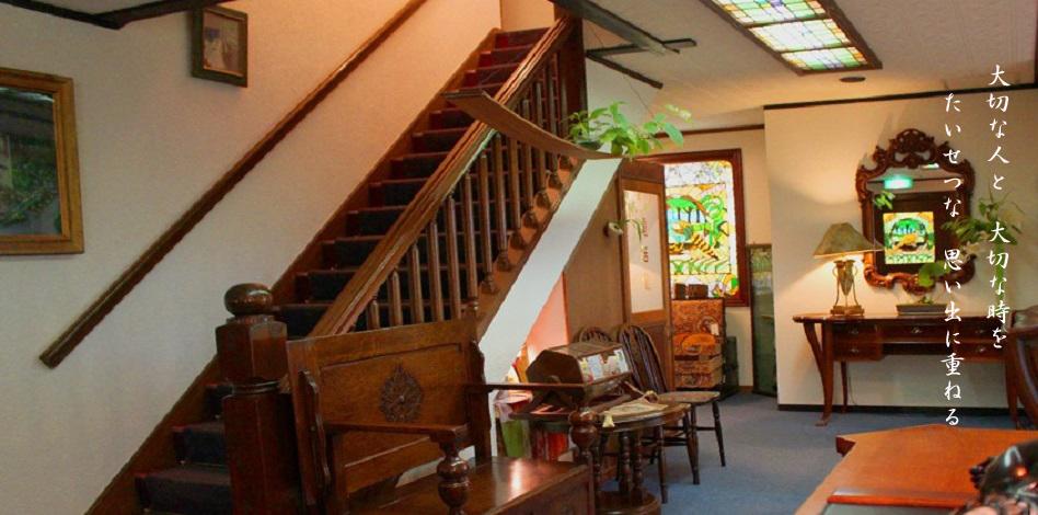 小さなホテルセラヴィ玄関