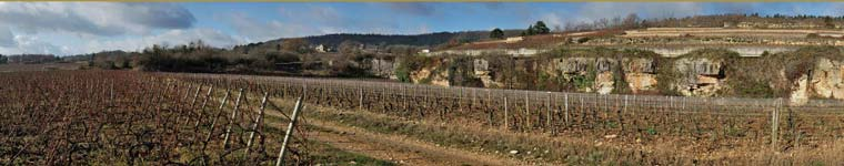 Meursault-Perriere en hivers