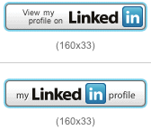 how to add a linkedin profile badge to your website