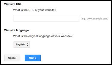 google translate url