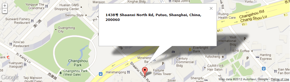 Location Shanghai China Digital Marketing Agency