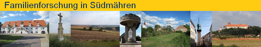 Familienforschung in Südmähren
