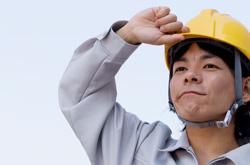 作業員男性の画像