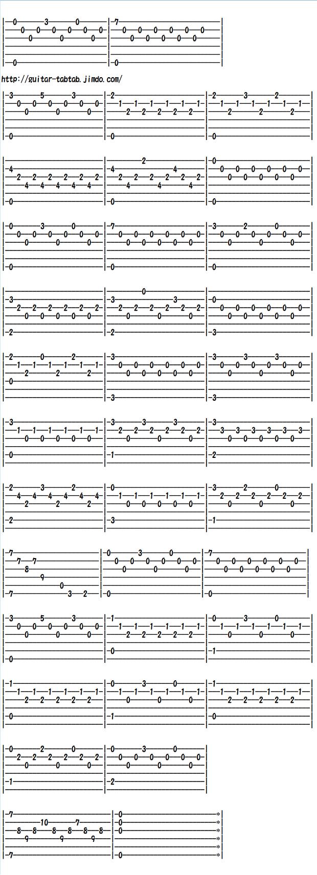 クラシックギター初心者向け練習曲 カルカッシの練習曲OP.60 No.19 Em