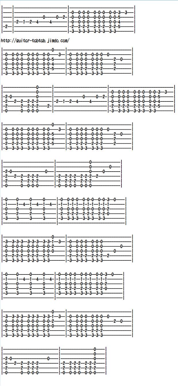 Easy Classical Guitar Sheet Music (Tabs), El Cóndor Pasa