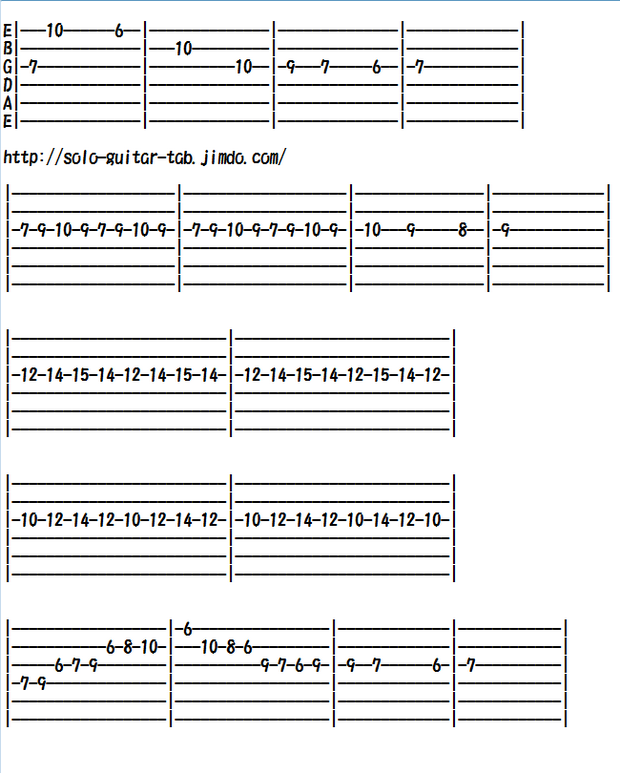 Electric Guitar Sheet Music of Classical Music, Csárdás (Czardas)