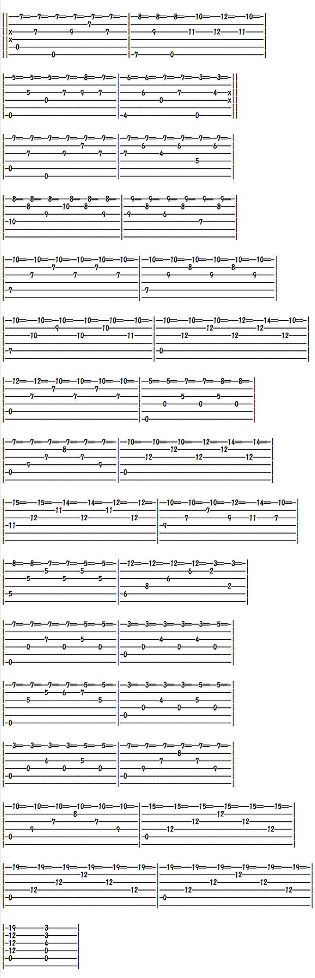 Free Classical Guitar Tabs, Un Sueno en la Floresta
