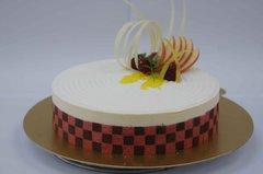 サワーチェリーとマスカルポーネのケーキ