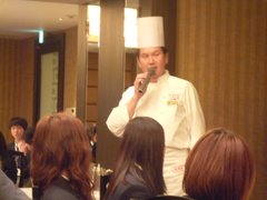 中華料理マナー ポートピアホテルにて