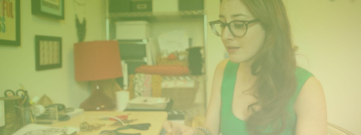Allison Hertzberg e il suo e-shop di accessori unici