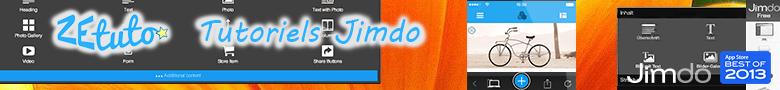 Tutoriels Jimdo