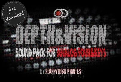 Depth&Vision Sound Pack Analog Keys Four