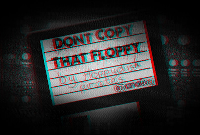 Don't Copy That Floppy Sound Pack Analog Four Keys