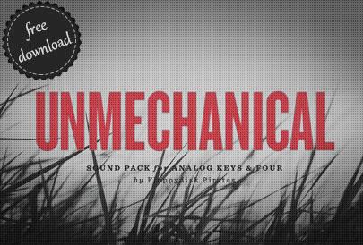 Unmechanical sound pack analog keys four