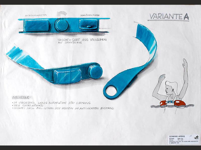 design-zug-038-baderettung-industriedesign-innovativer-rettungsgurt-für-wassersport- surfer-und-segler-1992-04