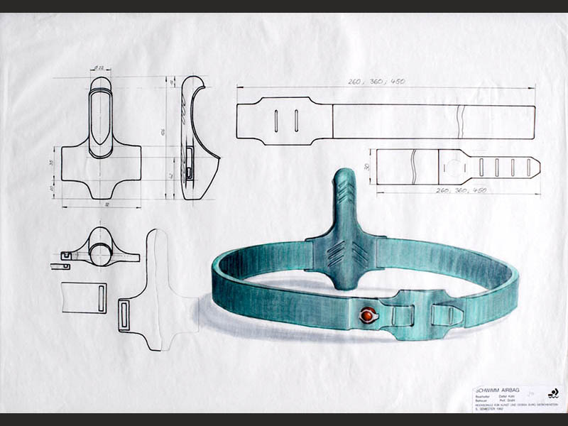 design-zug-041-baderettung-industriedesign-innovativer-rettungsgurt-für-wassersport- surfer-und-segler-1992-07