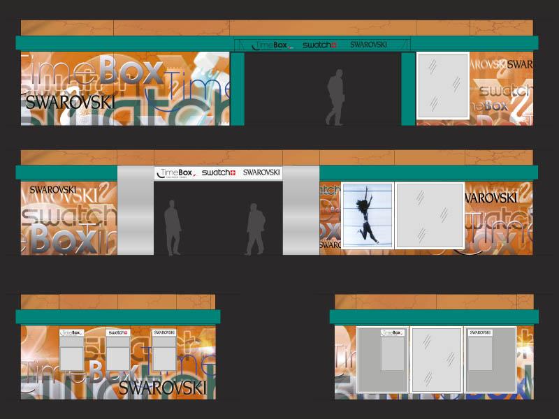 grafik-110-rom-airport-multibrand-swarowski-timebox-swatch-shop-2003-fassadengestaltung-04