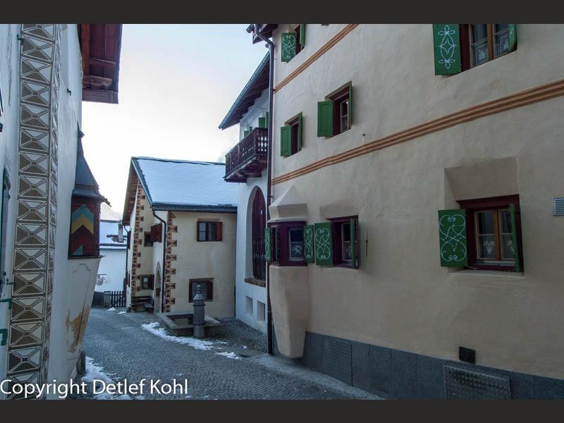 Guarda das schönste Dorf im Engadin - ein Wintermärchen
