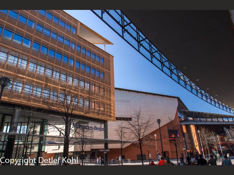 Gebaute Kulisse Berlin Potsdamer Platz