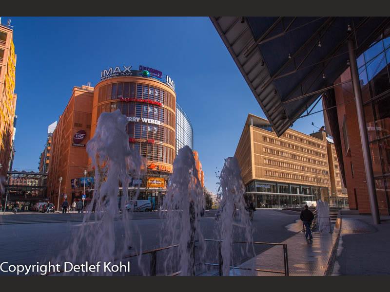 Architektonisches Spiel Berlin Potsdamer Platz