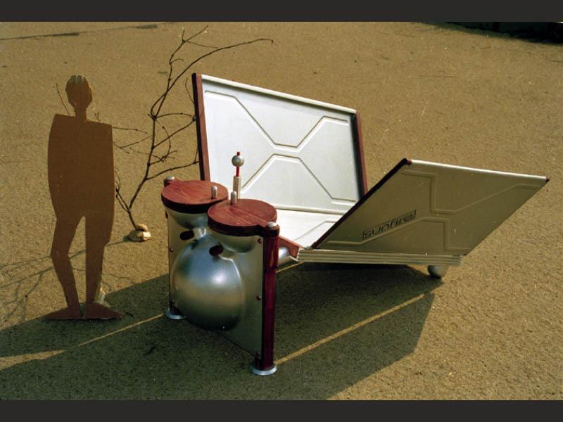 Kochen mit Sonne Solarkocher Modell 1990