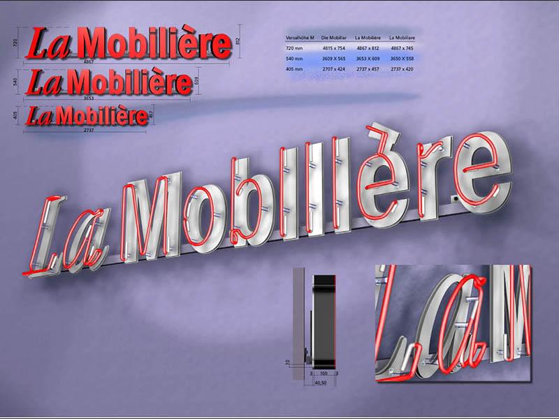 Grafik Produktewerbung Die Mobiliar 1999