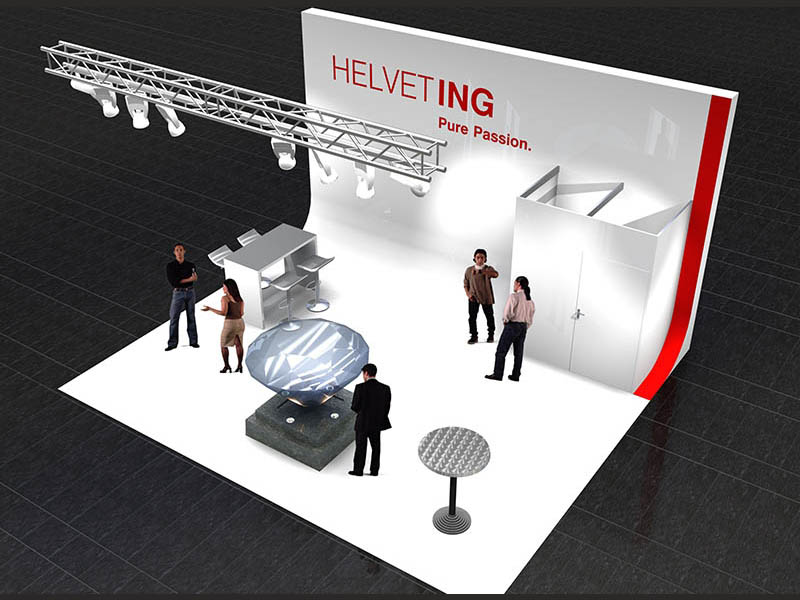 Messestand Helveting Hünenberg 2010