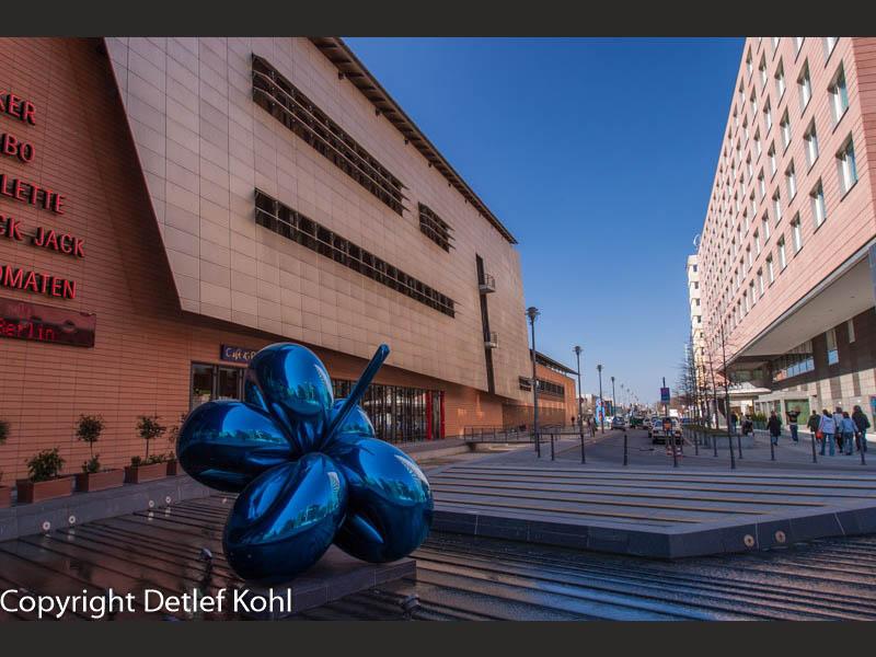 Kunst im Zentrum von Berlin - Potsdamer Platz
