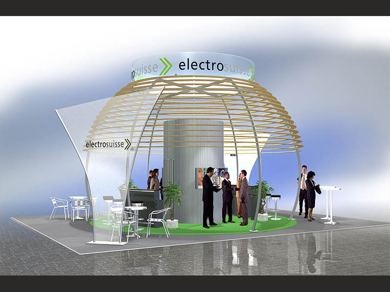 Electrosuisse Messestand Ineltec