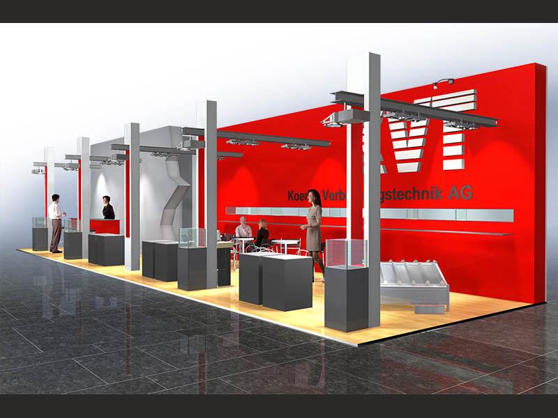 KVT Messestand Swissbau Basel