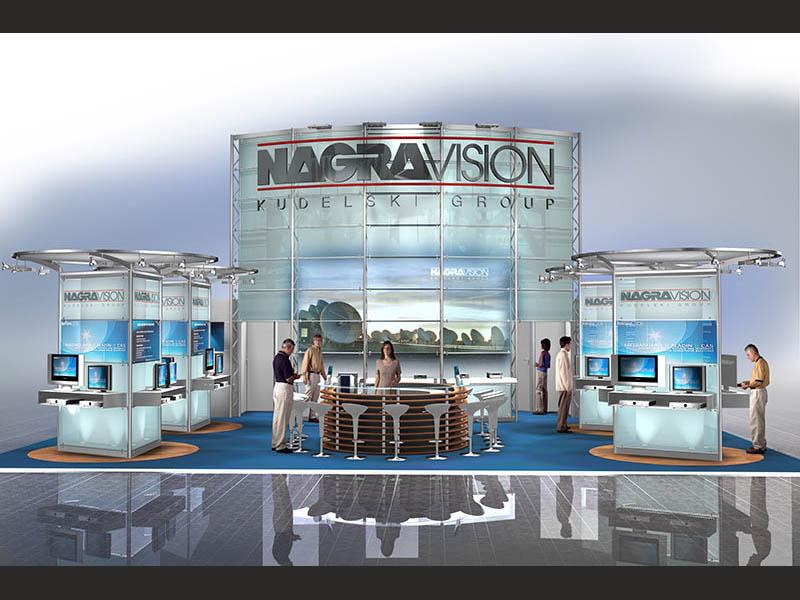 Nagravision Messestand 2005