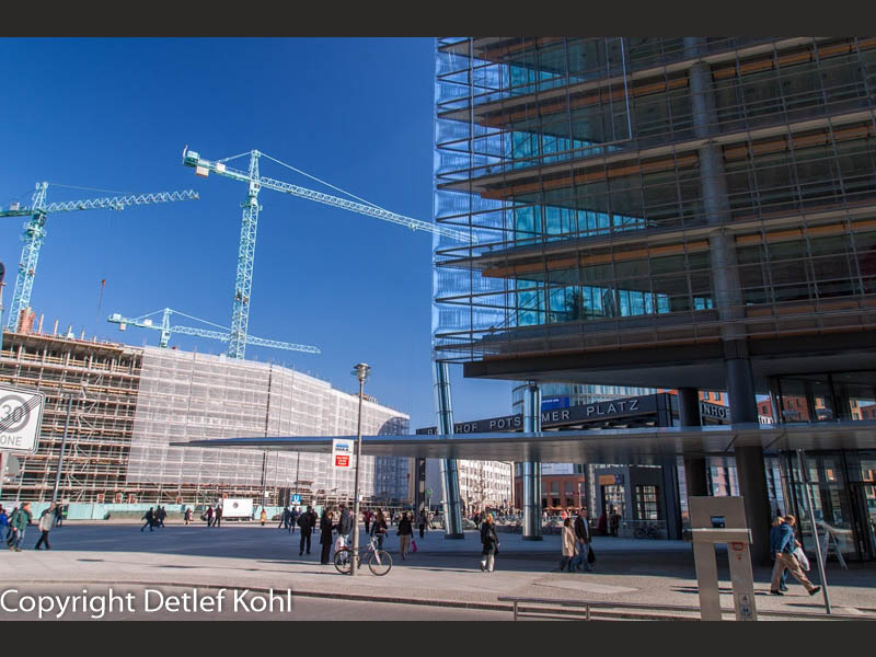 Fotografische Abbild der Zeit Berlin Potsdamer Platz