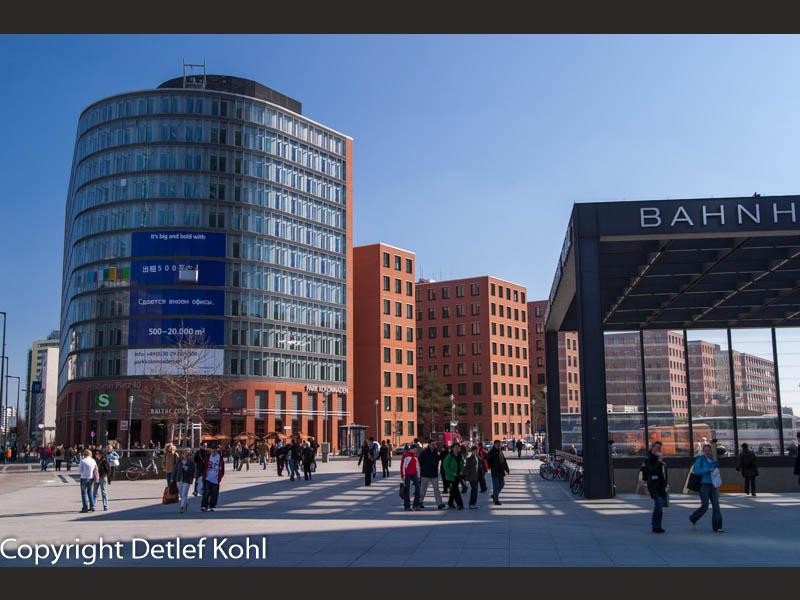 Kulturbahnhof Berlin Potsdamer Platz