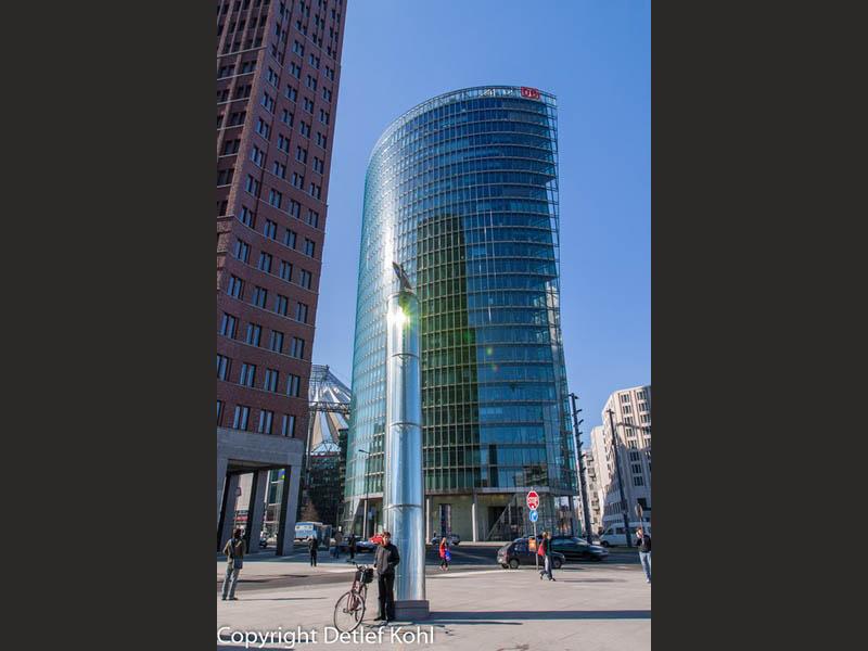 Oval oder Zylinder? Berlin Potsdamer Platz