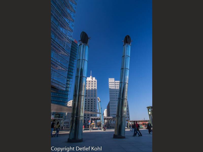 Twin Towers Berlin Potsdamer Platz