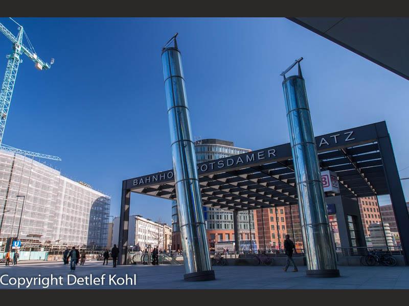 Einstieg oder Aufstieg - Berlin Potsdamer Platz