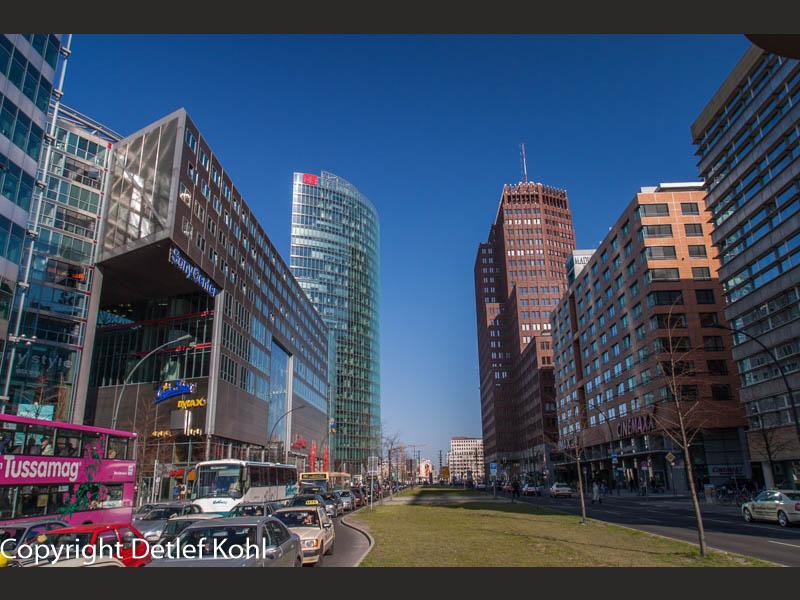 Städtebauliche Impressionenin - Berlin Potsdamer Platz